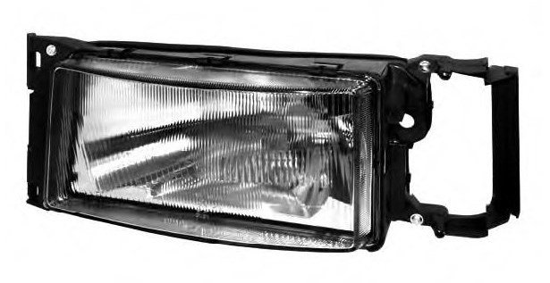 Head Lamp, Left, Without Signal Lamp, H4