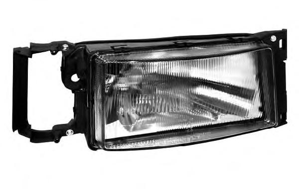 Head Lamp, Right, Without Signal Lamp, H4