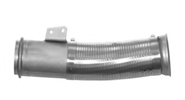 Front Exhaust Pipe L: 440 Mm