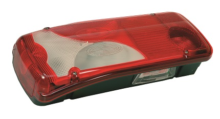 Tail Lamp, Left, With License Plate Lamp Replaces Vignal: 156770