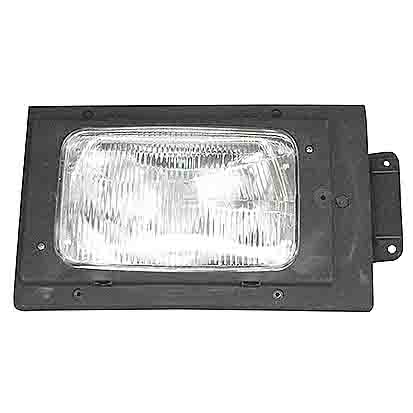 Headlamp, Right Replaces Bosch: 0 301 022 302 / Lhd / H4