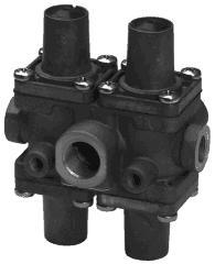 4-circuit-protection Valve replaces Wabco: 934 702 381 0