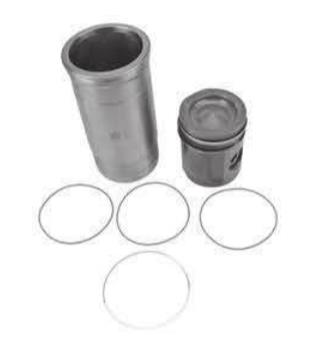 Piston With Liner Kit